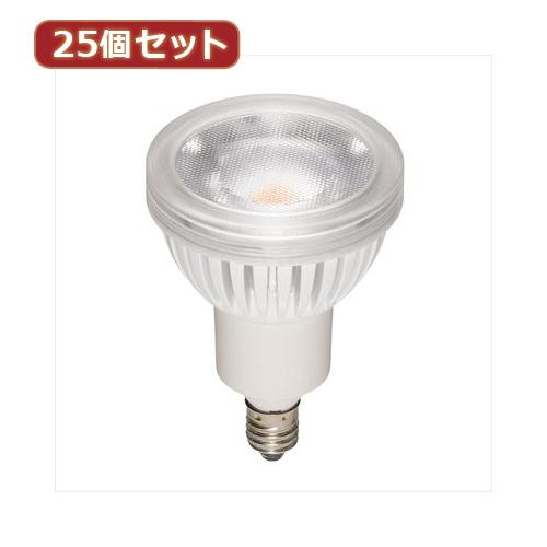 YAZAWA 【25個セット】 光漏れタイプハロゲン形LED電球 LDR4NWE11X25 家電 照明器具 LED電球【送料無料】