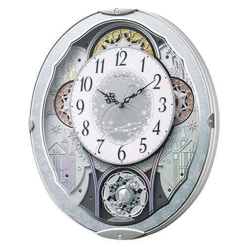 からくり電波時計 雑貨 ホビー インテリア インテリア 時計【送料無料】