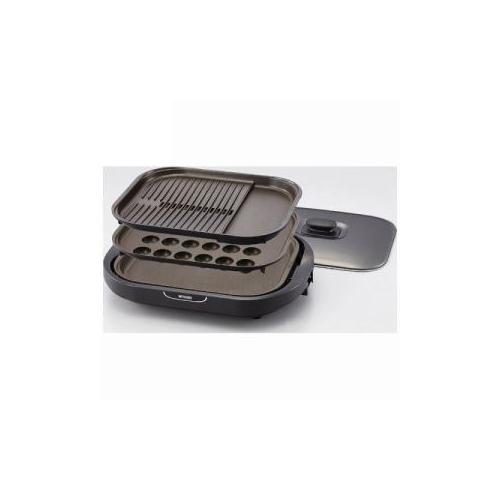 タイガー CRC-B301-T ホットプレート(プレート3枚) 家電 キッチン家電 ホットプレート【送料無料】