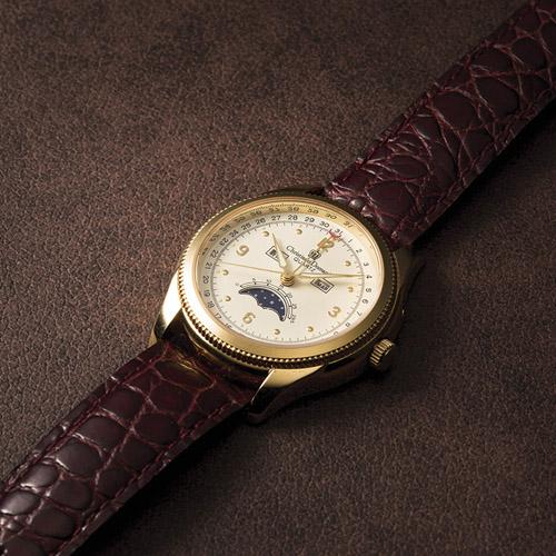 紳士トリプルカレンダーウォッチ 雑貨 ホビー インテリア 雑貨 腕時計【送料無料】