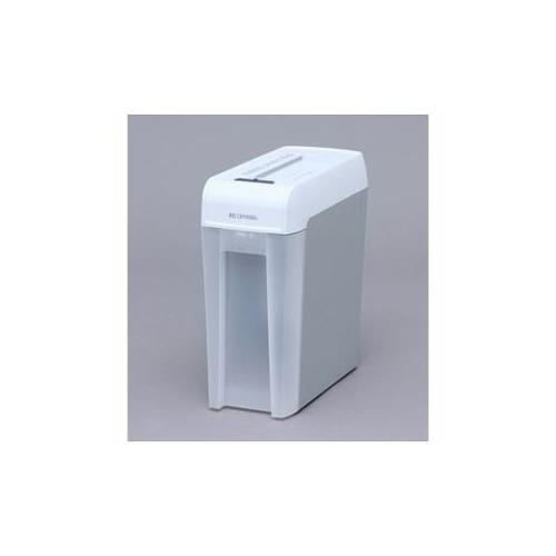 アイリスオーヤマ マイクロカットシュレッダー (A4サイズ/CD DVD カードカット対応) ホワイト/グレー KP6HMCS 家電【送料無料】