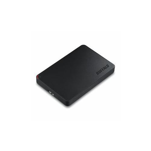 バッファロー HD-PCF500U3-BE ミニステーション ターボPC EX2 Plus対応 USB3.1 /USB3.0用ポータブルHDD 500GB HD-PCF500U3-BE【送料無料】