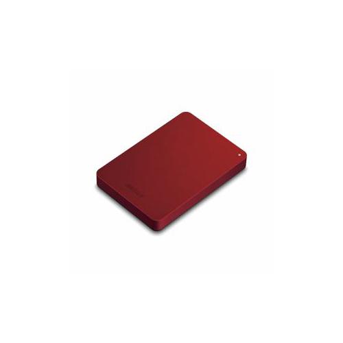 バッファロー HD-PNF1.0U3-BRE ミニステーション ターボPC EX2 Plus対応 USB3.1 /USB3.0用ポータブルHDD レッド 1TB【送料無料】