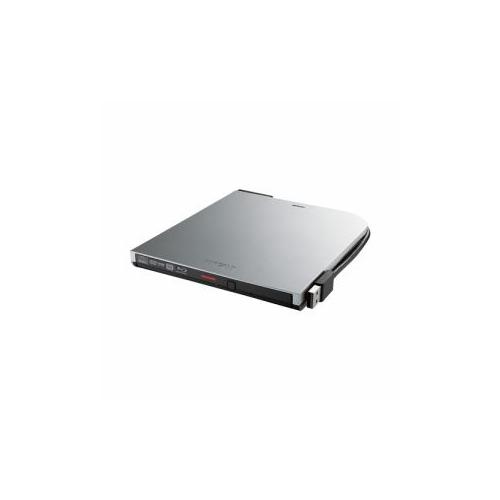 バッファロー BRXL-PT6U2V-SVD BDXL対応 USB2.0用 ポータブルブルーレイドライブ スリムタイプ シルバー BRXL-PT6U2V-SVD【送料無料】