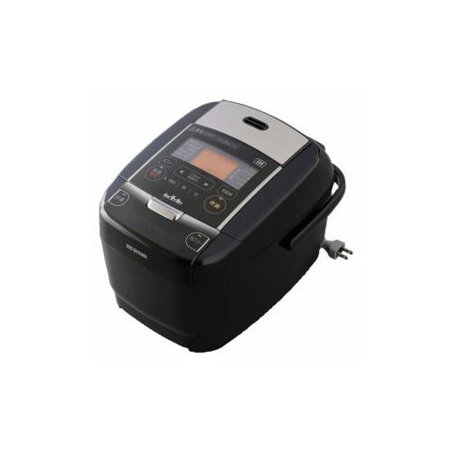 アイリスオーヤマ IHジャー炊飯器 3合炊き ブラック KRC-IC30-B(代引不可)【送料無料】