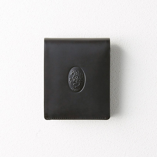 レオナルド・チェンバレ 二つ折れ財布(ブラック) M81013016(代引不可)【送料無料】