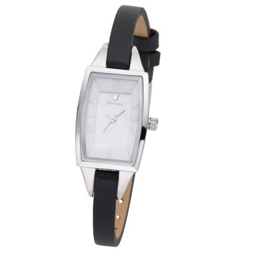 TirrLirr 腕時計 ジュエリー ウォッチ ブランド レディース 革ベルト twc-003BK(代引不可)【送料無料】