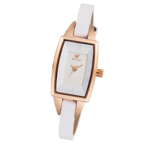 TirrLirr 腕時計 ジュエリー ウォッチ ブランド レディース 革ベルト twc-003WH(代引不可)【送料無料】