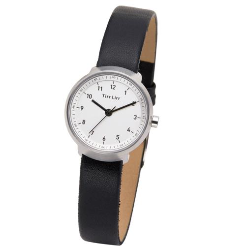 TirrLirr 腕時計 ジュエリー ウォッチ ブランド レディース 革ベルト twc-004BK(代引不可)【送料無料】