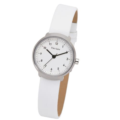 TirrLirr 腕時計 ジュエリー ウォッチ ブランド レディース 革ベルト twc-004WH(代引不可)【送料無料】
