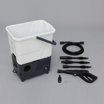 アイリスオーヤマ タンク式高圧洗浄機 SBT-511 高圧洗浄機 ホワイト/グレ-(代引き不可)