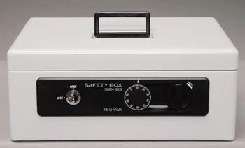 アイリスオーヤマ 手提げ金庫 SBX-B5 手提げ金庫 グレー SBX-B5(代引き不可)【送料無料】
