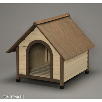 アイリスオーヤマ ウッディ犬舎 WDK-600、750、900 犬舎 ブラウンWDK-900(代引き不可)【送料無料】【S1】