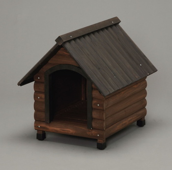 アイリスオーヤマ ログ犬舎 LGK-600 犬舎 ダークブラウンLGK-600(代引き不可)【S1】