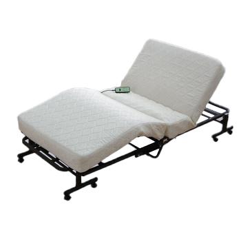 アイリスオーヤマ 折りたたみコイル電動ベッド ベッド ホワイトOTB-CDN(代引き不可)【送料無料】