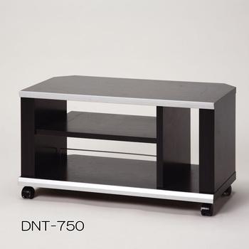アイリスオーヤマ 薄型コーナーTVラック AVボード・TVラック ブラック DNT-750(代引き不可)【送料無料】【S1】