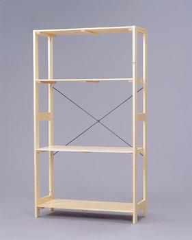 アイリスオーヤマ ウッディラック 木製ラック クリア WOR-8315(代引き不可)【送料無料】