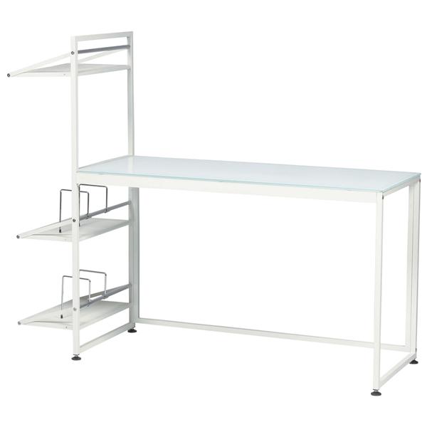 デスク [PT-431WH] 机 テーブル(代引不可)【送料無料】