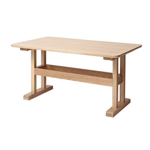 ダイニングテーブル テーブル カフェテーブル 北欧 おしゃれ 天然木 木製 カバーリングソファ【marc】マルク ダイニングテーブル 単品【送料無料】(代引不可)【S1】