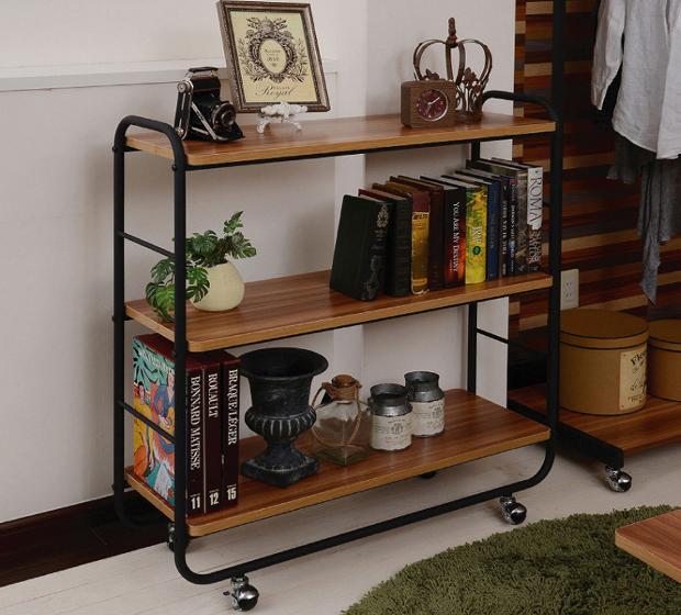 木製3段ラック ラック 木製 多目的ラック オープンシェルフ 収納家具 家具 収納(代引不可)【送料無料】【S1】