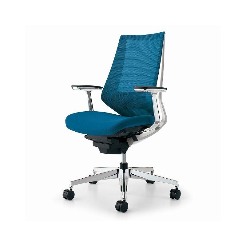 コクヨ オフィスチェア デュオラ CR-GA3061E1KZT4-W アルミ肘 カーペット用【配送 アルミ肘・組立 カーペット用・設置込 デュオラ】(代引不可)【送料無料】, ハンナンシ:feb9dc32 --- officewill.xsrv.jp