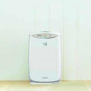 ダイキン DAIKIN 加湿ストリーマ空気清浄機 PM2.5対応 ACK55R-W ホワイト 【コンパクトタイプ】 ~25畳(~41) アクディブプラズマイオン【】:リコメン堂インテリア館