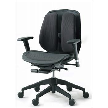 人体を探求した人間工学DUOREST(デュオレスト)α80N MESH SEAT 肘付き 背筋を伸ばす 2つの背もたれの椅子 パソコンチェア オフィスチェア ヘッドレスト 椅子 腰痛防止(代引き不可)【送料無料】【S1】