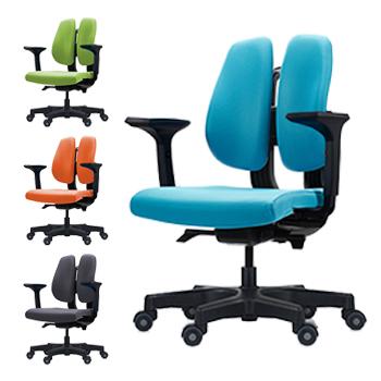 人体を探求した人間工学DUOREST(デュオレスト) D150 (ヘッドレストなし) 背筋を伸ばす 2つの背もたれの椅子 パソコンチェア オフィスチェア ヘッドレスト 椅子 腰痛防止(代引き不可)【送料無料】