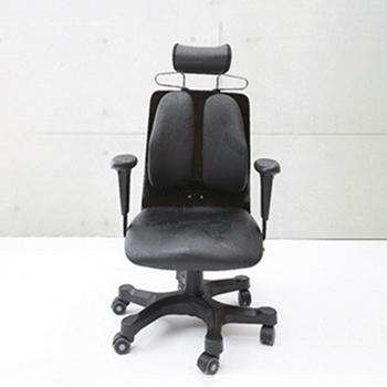 人体を探求した人間工学DUOREST(デュオレスト) 肘付き 背筋を伸ばす 2つの背もたれの椅子 パソコンチェア オフィスチェア ヘッドレスト 椅子 腰痛防止(代引き不可)【送料無料】