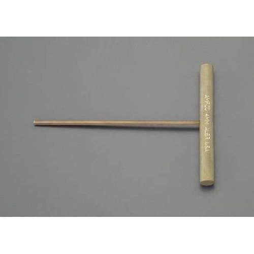 送料無料 5.0mm 六角棒レンチ ノンスパーキング 上質 至上 EA642LV-5 T型