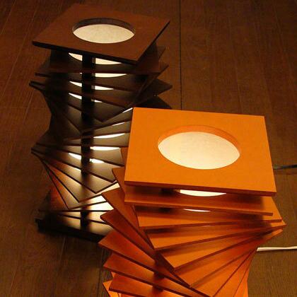 スタンドライト フロア 間接照明 Flames フレイムス spiraltowar スパーラルタワー DS 027BR DS 027DB(代引き不可)【送料無料】