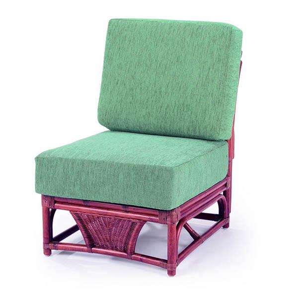 今枝ラタン 応接椅子 布張り 肘なしチェア 籐チェア 来客スペース ロビー 応接家具 オフィス家具 インテリア A-600-2D【送料無料】