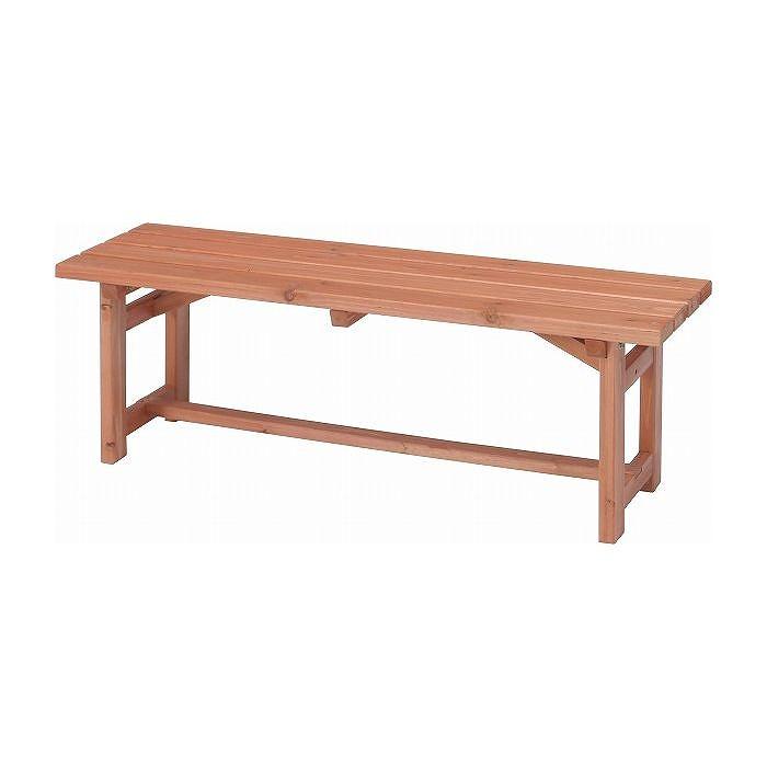 木製ベンチ120 W1200×D350×H400mm 杉材 おしゃれ(代引不可)【送料無料】