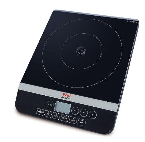 T-fal ティファール 卓上IH調理器 デイリーIH ブラック IH2028JP