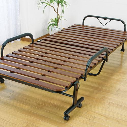 正規通販 ベッド 折りたたみベッド すのこベッド 桐製 木製 すのこ 桐製 すのこ 折りたたみ ベッド キャスター付き シングル(代引不可)【送料無料】, dodoBABY(ドドベビー):58c0dc15 --- canoncity.azurewebsites.net