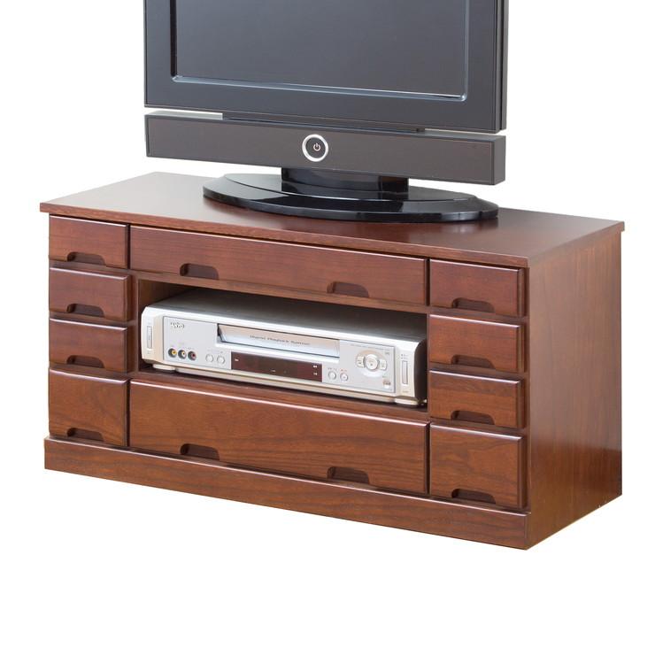 テレビボード 引き出し 収納 収納家具 ロータイプ ローボード テレビ台 天然木(代引不可)【送料無料】