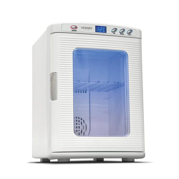 2電源式25リットルポータブル冷温庫 ホワイト 2電源式 ポータブル 冷温庫 25リットル(代引不可)【送料無料】