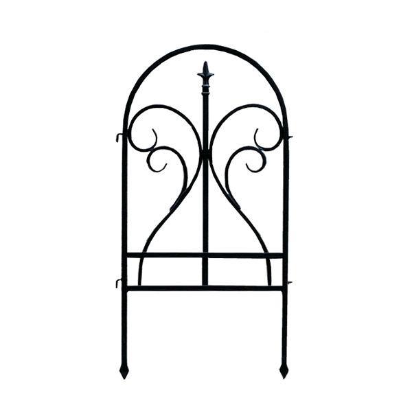 イージーフェンス フィニアル 6枚セット 6枚組 フェンス 低い アンティーク ガーデン ガーデニング おしゃれ 北欧 庭園(代引不可)【送料無料】