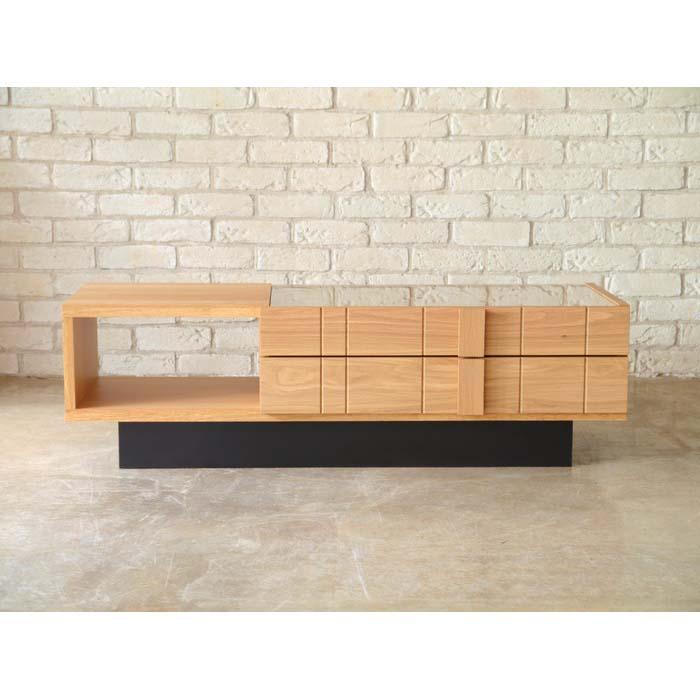 【SAMOA/サモア】 コレクションテーブル 北欧 木製 シンプル ナチュラル 西海岸 一人暮らし ローテーブル センターテーブル(代引不可)【送料無料】