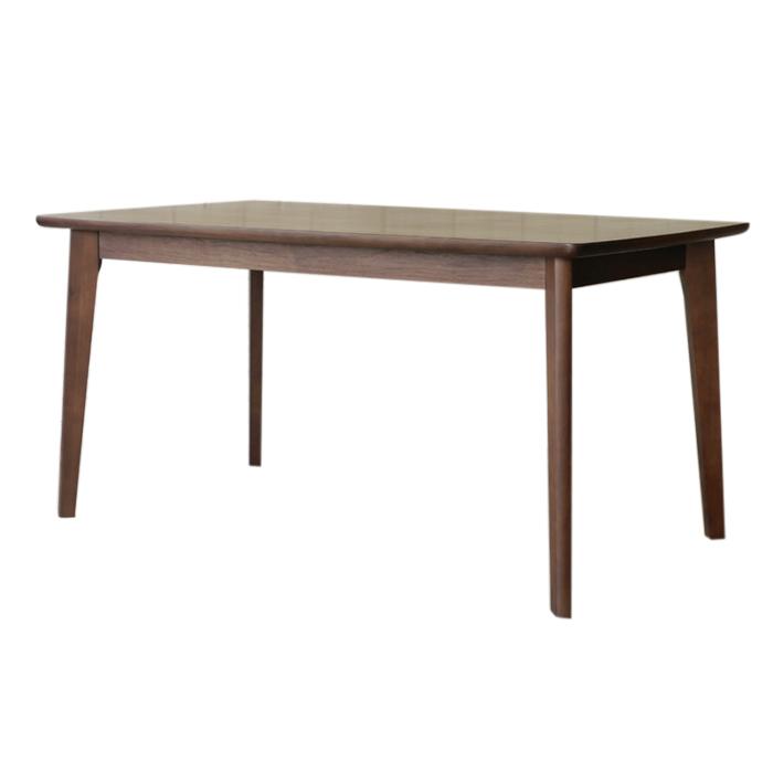 【COLK/コルク】 150ダイニングテーブル ウォルナット突板材使用 テーブル 木製 ウォールナット 無垢 シンプル リビング おしゃれ(代引不可)【送料無料】