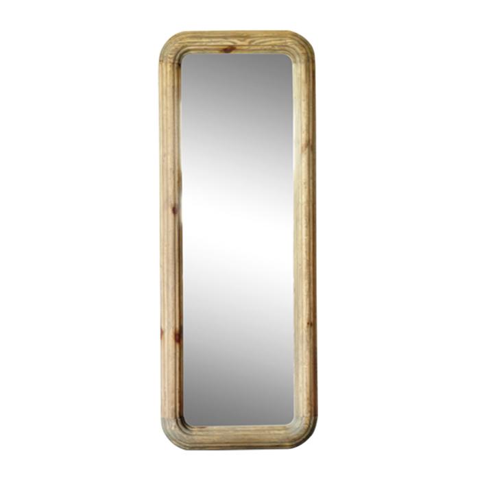 【MOSH/モッシュ】 スタンドミラー 幅60×高さ160cm 姿見鏡 ミラー 木製 鏡 おしゃれ 全身鏡 スリムミラー ガルト レーゲンミラー(代引不可)【送料無料】【S1】