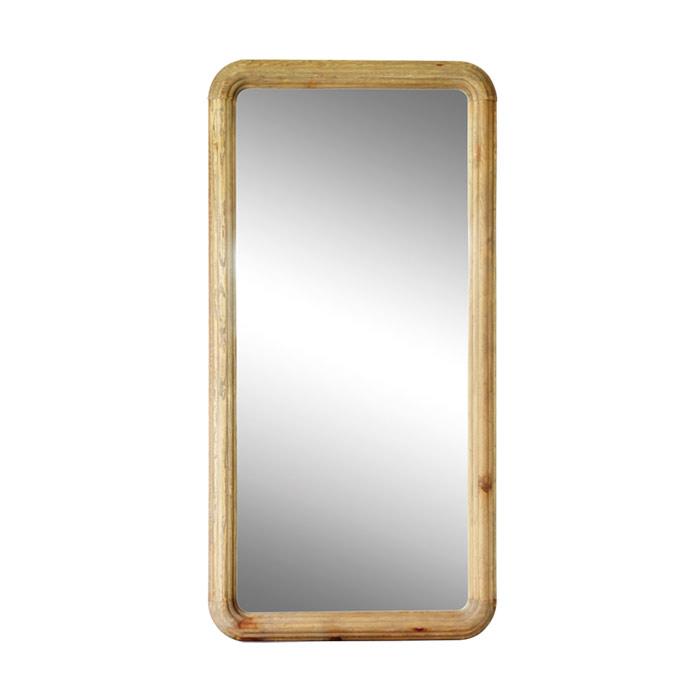 【MOSH/モッシュ】 スタンドミラー 幅90×高さ180cm 姿見鏡 ミラー 木製 鏡 おしゃれ 全身鏡 スリムミラー ガルト レーゲンミラー(代引不可)【送料無料】【S1】