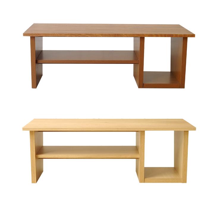 【RUDE/ルーデ】 ルーデ リビングテーブル 日本製 ローテーブル コーヒーテーブル 木製 センターテーブル オーク材 ブラウン ナチュラル(代引不可)【送料無料】