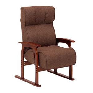 座椅子 LZ-4303BR (代引き不可)【送料無料】