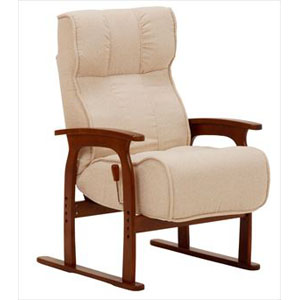 座椅子 LZ-4303IV (代引き不可)【送料無料】