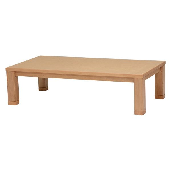 こたつ こたつテーブル 長方形 150×80 天然木 継ぎ脚 継脚 高さ調節 家具調こたつ 家具調こたつテーブル 桔梗150(代引不可)【送料無料】