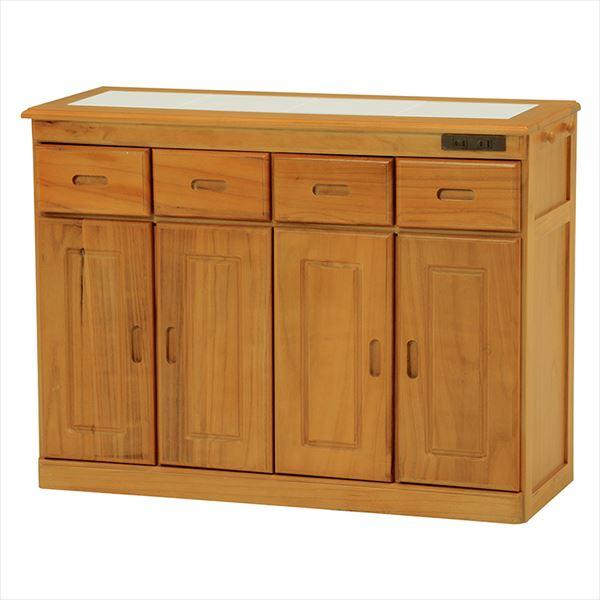 キッチンカウンター MUD-6124SNA(代引不可)【送料無料】【storage0901】