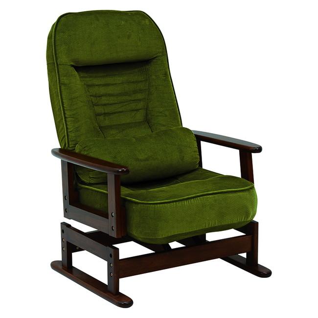 萩原 LZ-4742GR 高座椅子(代引不可)【送料無料】
