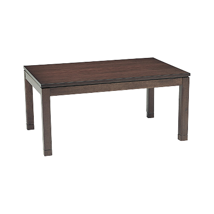 萩原 リビングコタツ シェルタT120M こたつ テーブル(代引不可)