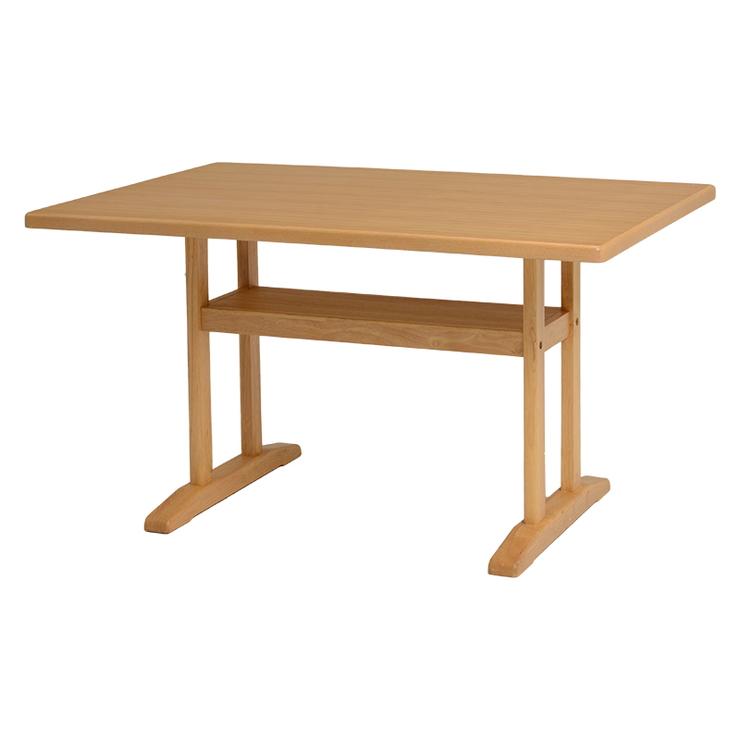 萩原 ロータイプダイニングテーブル VDT-7305NA 幅120cm テーブル ダイニング ナチュラル(代引不可)【送料無料】